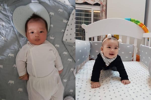 Chào đời năm 2018, những cậu ấm cô chiêu con nhà hotgirl - hotboy Việt gây sốt vì nhìn bé nào cũng đáng yêu-7