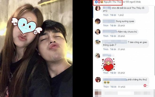 Bạn trai tin đồn khoe ảnh tình cảm bên cô gái giấu mặt, dân mạng lập tức triệu hồi ca sĩ Thu Thủy-2