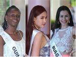 Sau nhiều ngày kém xinh, cuối cùng Lê Âu Ngân Anh cũng đã có một bức hình khá khẩm tại Miss Intercontinental 2018-14