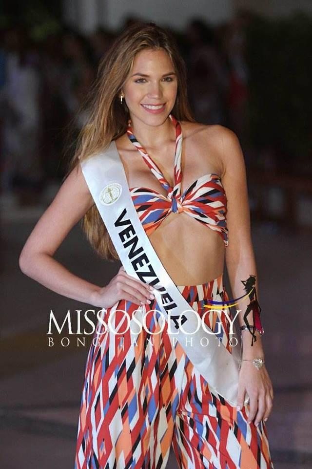 Nhan sắc Lê Âu Ngân Anh vẫn còn đỡ, ngắm dàn thí sinh Miss Intercontinental 2018 mặc đồ dạo biển ai cũng thon thót giật mình-8