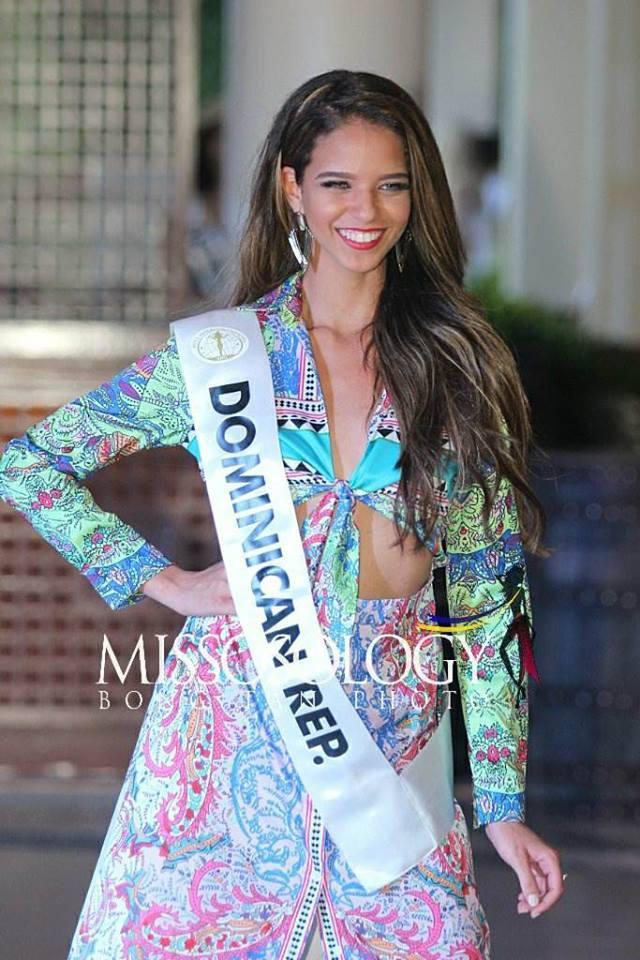 Nhan sắc Lê Âu Ngân Anh vẫn còn đỡ, ngắm dàn thí sinh Miss Intercontinental 2018 mặc đồ dạo biển ai cũng thon thót giật mình-11