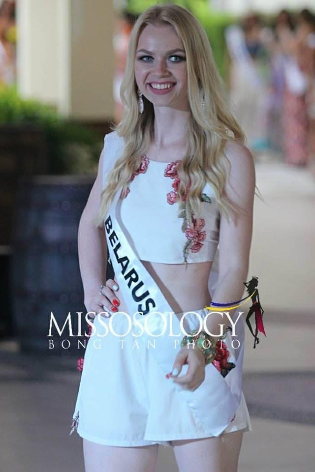 Nhan sắc Lê Âu Ngân Anh vẫn còn đỡ, ngắm dàn thí sinh Miss Intercontinental 2018 mặc đồ dạo biển ai cũng thon thót giật mình-16