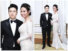 Cận cạnh vợ trẻ 9x da nâu miệng rộng của Lê Hiếu trong đám cưới hạng sang hạn chế khách mời