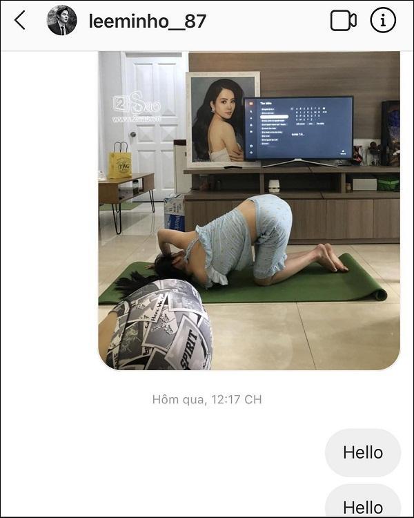 SHOCK NẶNG: Nam Em gửi ảnh quần áo xộc xệch quỳ trên đất tới mỹ nam Hàn Quốc Lee Min Ho-2