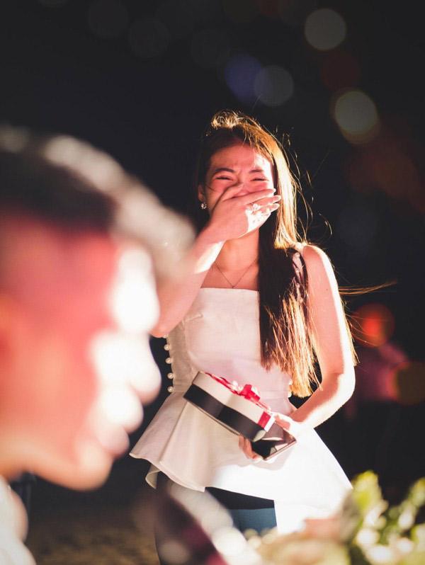 Màn cầu hôn siêu lãng mạn của cô dâu đeo vàng trĩu cổ ở Nam Định với chú rể khiến dân tình ghen tị-3