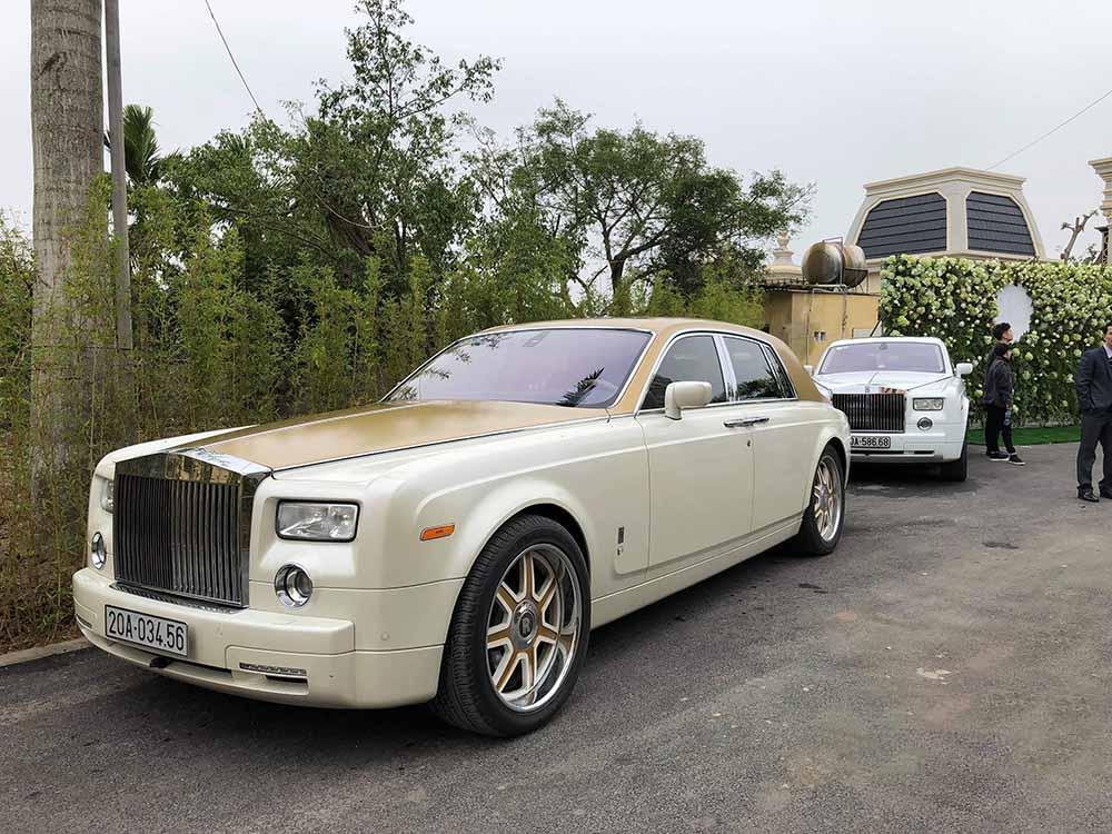 Ngắm trọn bộ ảnh cưới của cô dâu đeo vàng trĩu cổ được 2 siêu xe Rolls-Royce Phantom rước trong đám cưới khủng ở Nam Định-2