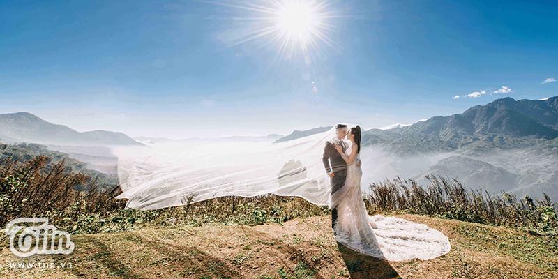 Ngắm trọn bộ ảnh cưới của cô dâu đeo vàng trĩu cổ được 2 siêu xe Rolls-Royce Phantom rước trong đám cưới khủng ở Nam Định-5