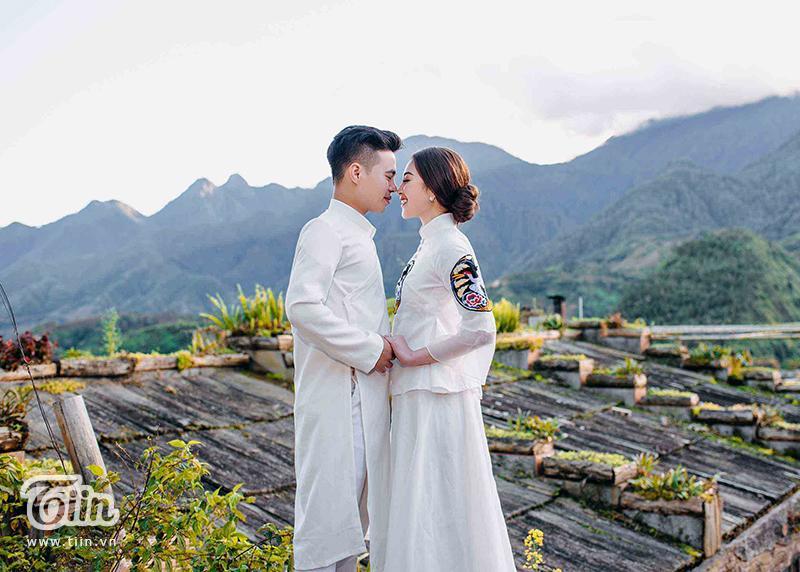 Ngắm trọn bộ ảnh cưới của cô dâu đeo vàng trĩu cổ được 2 siêu xe Rolls-Royce Phantom rước trong đám cưới khủng ở Nam Định-6