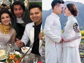 Ngắm trọn bộ ảnh cưới của cô dâu đeo vàng trĩu cổ được 2 siêu xe Rolls-Royce Phantom rước trong đám cưới 'khủng' ở Nam Định
