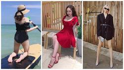 Thúy Vi khoe ngực ngồn ngộn - Kaity Nguyễn phô trọn vòng hông quả táo sexy chẳng kém Angela Phương Trinh