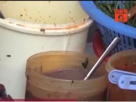 Nhìn nước rửa bát này ai còn dám ăn ở quán ăn đường phố?