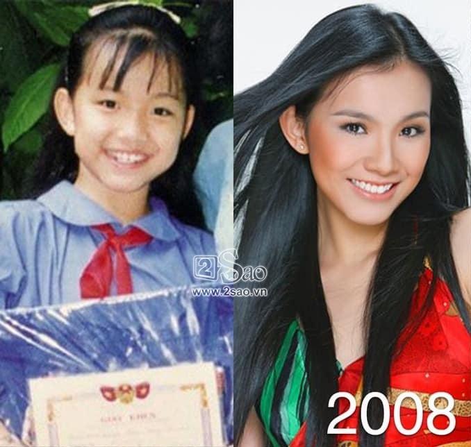 Dàn Miss Universe Vietnam khi xưa ta bé: Phạm Hương và HHen Niê thực ra đã rất xinh từ thuở lên 3-1