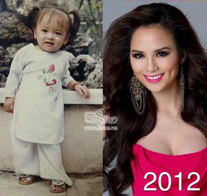 Dàn Miss Universe Vietnam khi xưa ta bé: Phạm Hương và HHen Niê thực ra đã rất xinh từ thuở lên 3-4