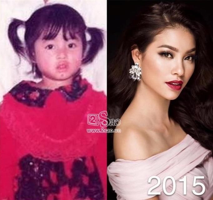 Dàn Miss Universe Vietnam khi xưa ta bé: Phạm Hương và HHen Niê thực ra đã rất xinh từ thuở lên 3-6