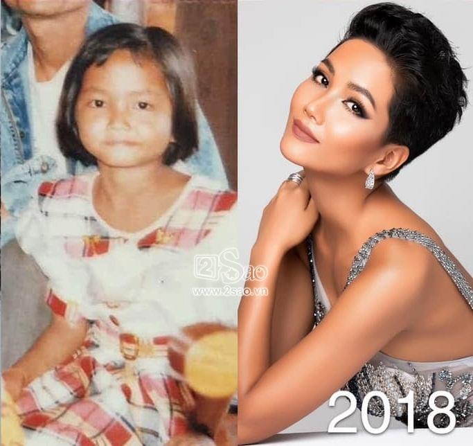 Dàn Miss Universe Vietnam khi xưa ta bé: Phạm Hương và HHen Niê thực ra đã rất xinh từ thuở lên 3-9