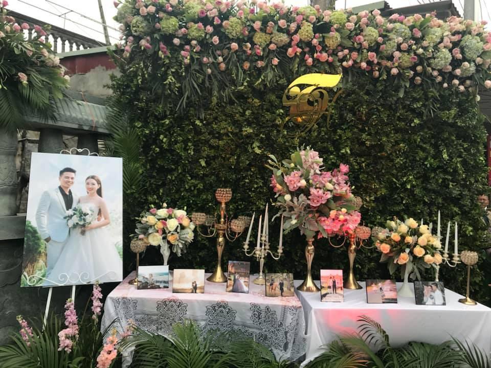 Nhan sắc đời thường xinh đẹp của cô dâu trong đám cưới ngập vàng ở Nam Định-5