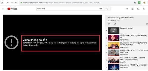 Sốc: MV hơn trăm triệu views DDU-DU DDU-DU của BlackPink vừa không cánh mà bay khỏi Youtube!-2