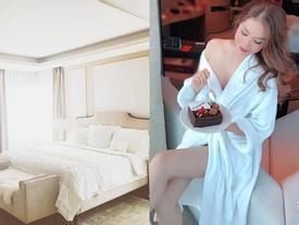 Phạm Hương vừa khoe ảnh giường chiếu, fan dáo dác mừng tủi vì tưởng bở 'chị Tổng' hồi quê