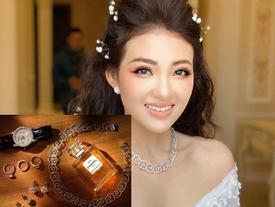 Siêu đám cưới ở Nam Định: Ngoài hồi môn 200 cây vàng, 2 sổ đỏ bộ trang sức cô dâu đeo trên người cũng lên đến 9 tỷ
