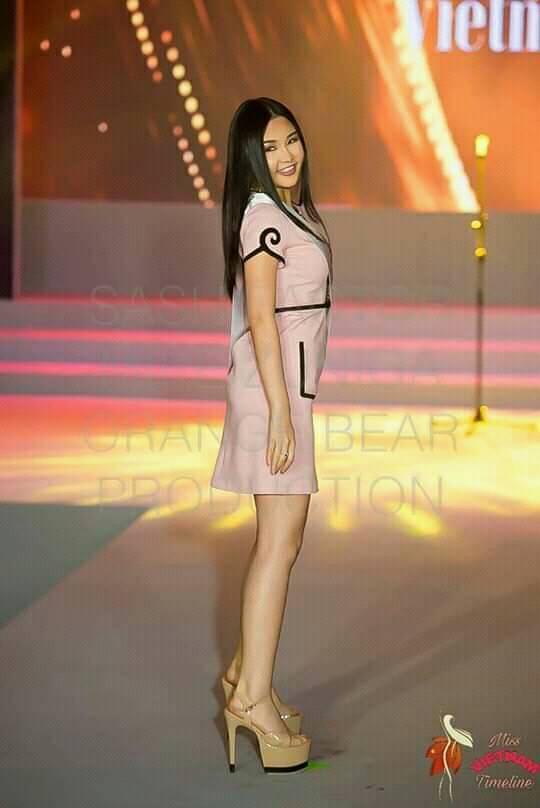 Sau nhiều ngày kém xinh, cuối cùng Lê Âu Ngân Anh cũng đã có một bức hình khá khẩm tại Miss Intercontinental 2018-4