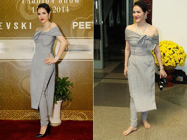 Loạt ảnh hậu trường nói không với giầy cao gót, mỹ nhân Việt bỗng chốc trở thành trò cười cho thiên hạ-9