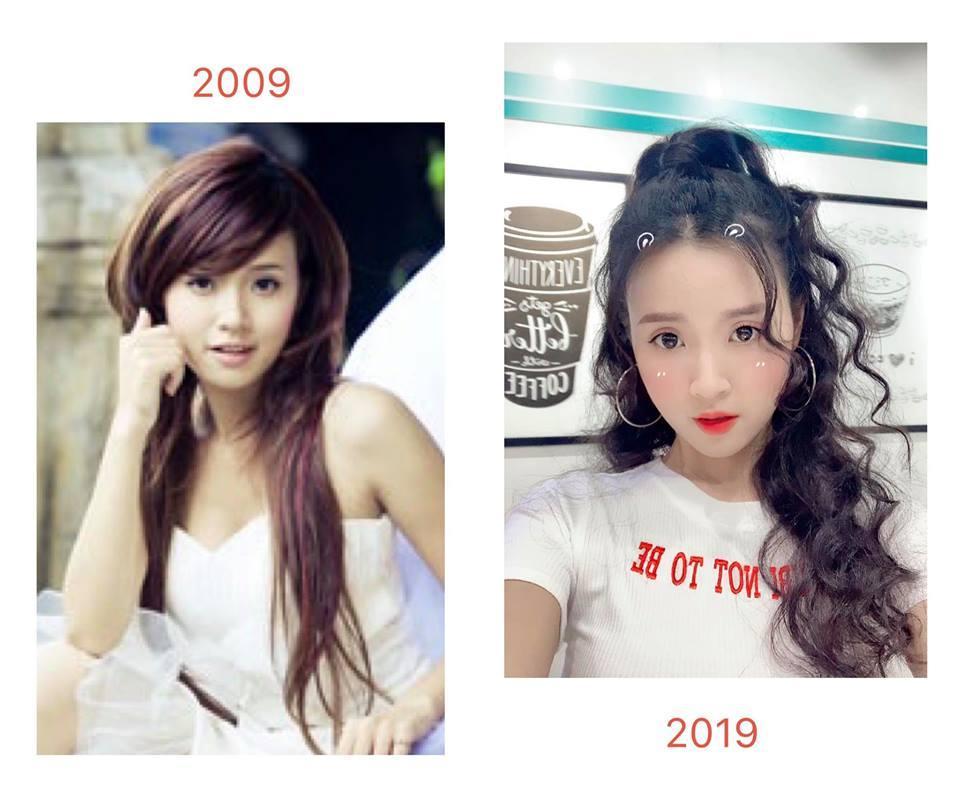Nhìn lại nhan sắc 10 năm của hotgirl - hotboy Việt, ai cũng lột xác nhưng BB Trần còn kinh điển hơn-5