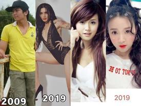 Nhìn lại nhan sắc 10 năm của hotgirl - hotboy Việt, ai cũng lột xác nhưng BB Trần còn kinh điển hơn