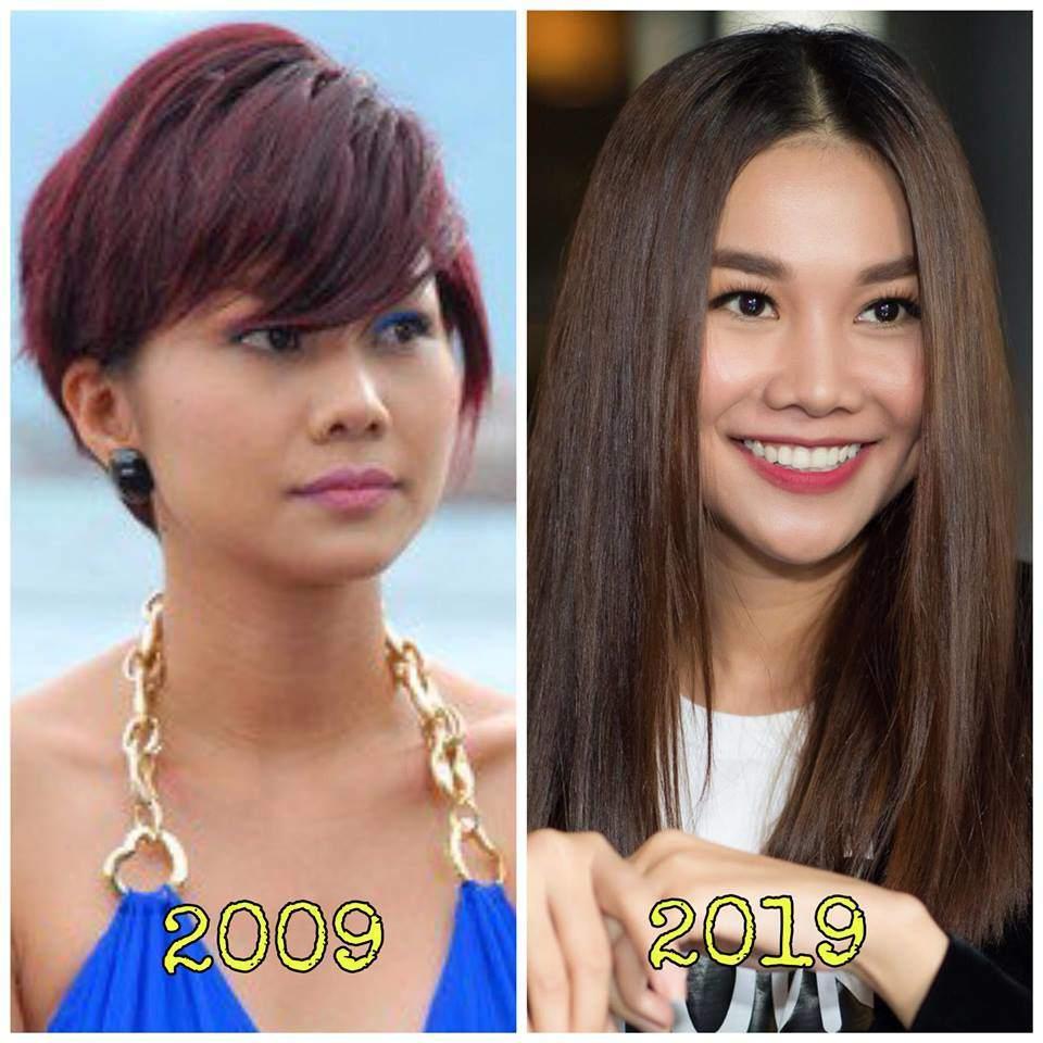 Trào lưu khoe ảnh 2009 - 2019: Mai Phương Thuý đẹp bền bỉ, còn mỹ nhân đổi khác nhất là...-1