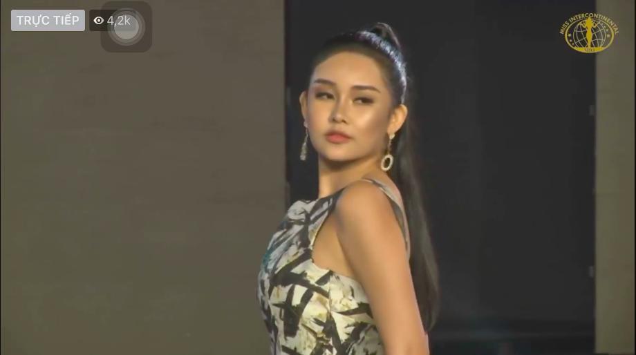 Lê Âu Ngân Anh xinh bất thình lình, trình diễn bikini và dạ hội cực tự tin tại Miss Intercontinental 2018-3