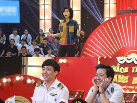 'Thánh đà đa' Kim Hoàng lại hát hit Lê Cát Trọng Lý đầy 'bá đạo' khiến Trấn Thành, Trường Giang bật cười