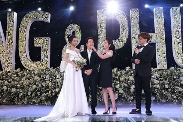 Chuyện dở khóc dở cười của sao Việt khi đi ăn cưới: Thành Lộc nhớ nhầm ngày, Long Nhật mặc sai trang phục-8
