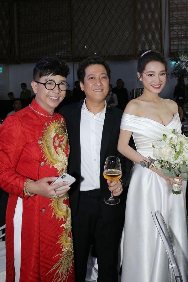 Chuyện dở khóc dở cười của sao Việt khi đi ăn cưới: Thành Lộc nhớ nhầm ngày, Long Nhật mặc sai trang phục-10