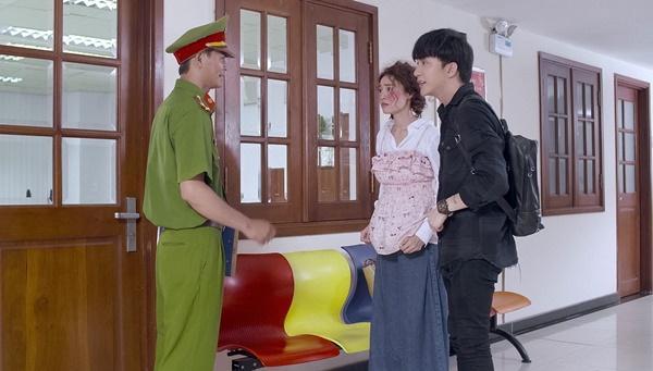 Chi Pu bị Ninh Dương Lan Ngọc mắng té tát vì hôn trai lạ ngoài đường trong tập 2 Mối tình đầu của tôi-2