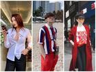 STREET STYLE: Kỳ Duyên hút hồn với tuyệt chiêu mặc áo phanh cúc - Sơn Tùng dát hàng hiệu trăm triệu dạo biển