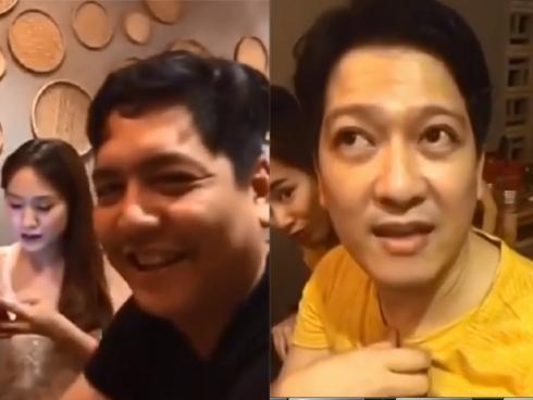 Sau ồn ào nhà sản xuất phim tiết lộ mang thai, Nhã Phương bất ngờ hội ngộ vui vẻ với đạo diễn Đức Thịnh