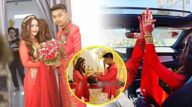 Những mỹ nhân Việt đeo vàng nặng trĩu, cưới đại gia thân thế khủng cỡ nào?-12