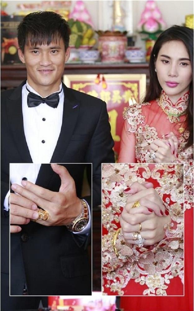 Những mỹ nhân Việt đeo vàng nặng trĩu, cưới đại gia thân thế khủng cỡ nào?-13