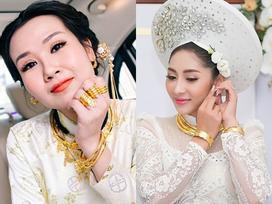 Những mỹ nhân Việt đeo vàng nặng trĩu, cưới đại gia thân thế 'khủng' cỡ nào?