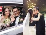 NSND Trung Hiếu rạng rỡ, hôn vợ đắm đuối trong lễ cưới tại Sơn La