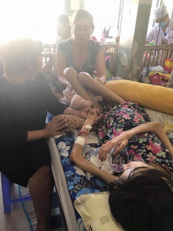 Sức khỏe mẫu Việt 9x ung thư buồng trứng giai đoạn cuối đang rất yếu, 3-4 ngày nay không ăn được gì-1