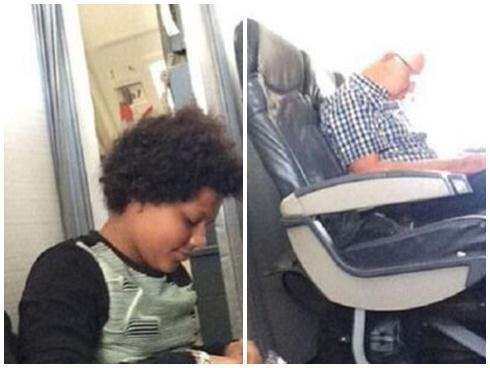 Hành khách phải ngồi trên sàn máy bay vì hết chỗ
