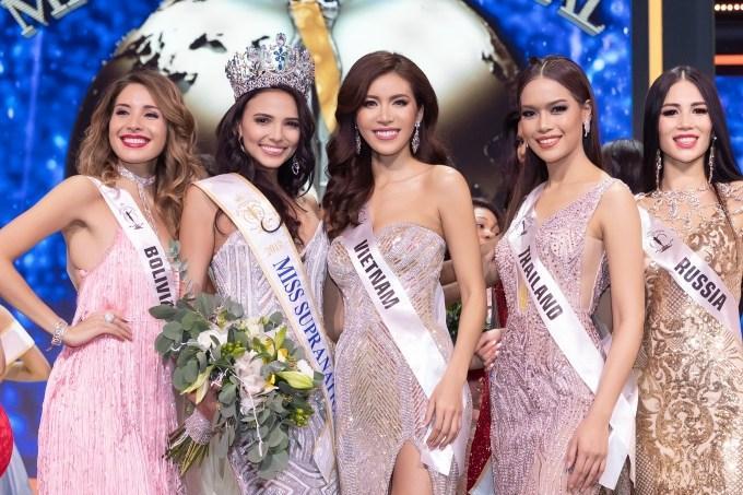 Minh Tú: Tôi tự tin lọt top 5 Hoa hậu Siêu quốc gia 2018 nếu không vướng tin đồn mua giải-2