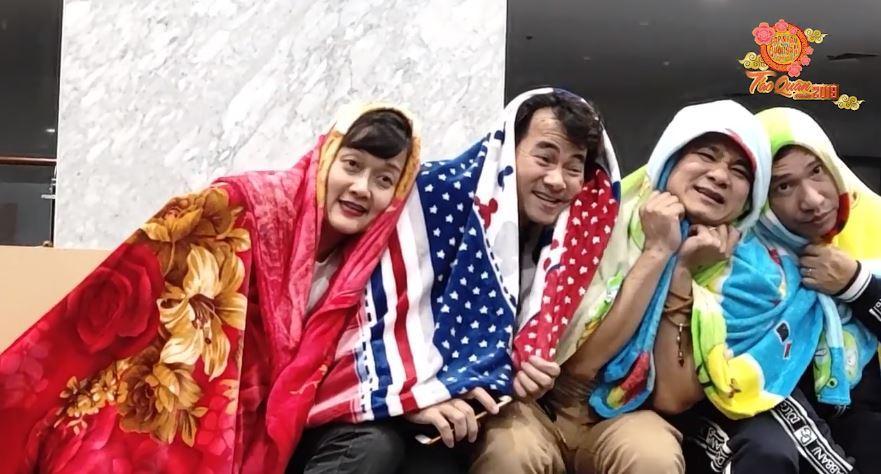 HOT: Lộ clip hậu trường tập luyện cười ra nước mắt của Táo Quân 2019-4