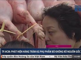 Phát hiện hàng trăm kg nguyên liệu lẩu bò, phá lấu 'bẩn' ở TP HCM