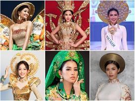 Năm 2018 của dàn mỹ nhân Việt mặc quốc phục lên sàn đấu thế giới: Ai gây ấn tượng mạnh nhất?