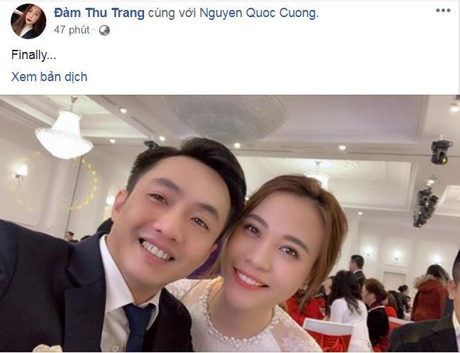 HOT: Cường Đô La - Đàm Thu Trang chính thức ăn hỏi, mẹ đẻ nam doanh nhân tình cảm trao nhẫn cho con dâu-2