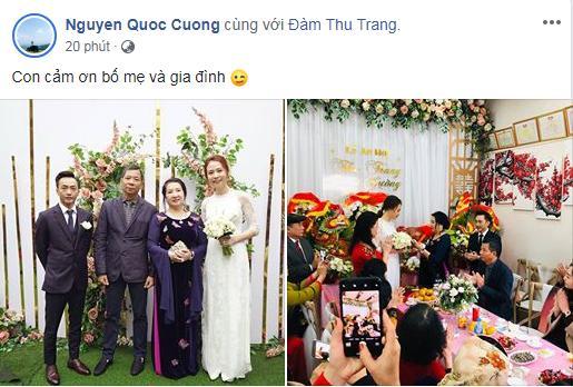 HOT: Cường Đô La - Đàm Thu Trang chính thức ăn hỏi, mẹ đẻ nam doanh nhân tình cảm trao nhẫn cho con dâu-4