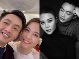 Thông báo 'đã kết hôn' với Cường Đô La, Đàm Thu Trang tình tứ nhắn nhủ ông xã: 'Chúng ta là một'