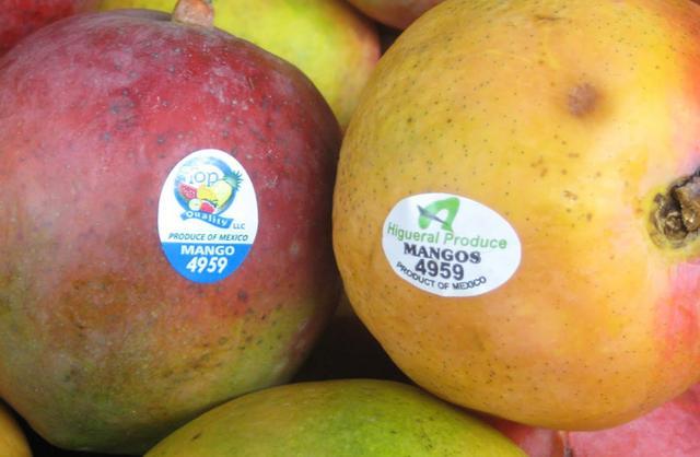 Mua trái cây nhập ngoại, đừng quên kiểm tra dãy số này trên tem-1