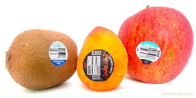 Mua trái cây nhập ngoại, đừng quên kiểm tra dãy số này trên tem-2